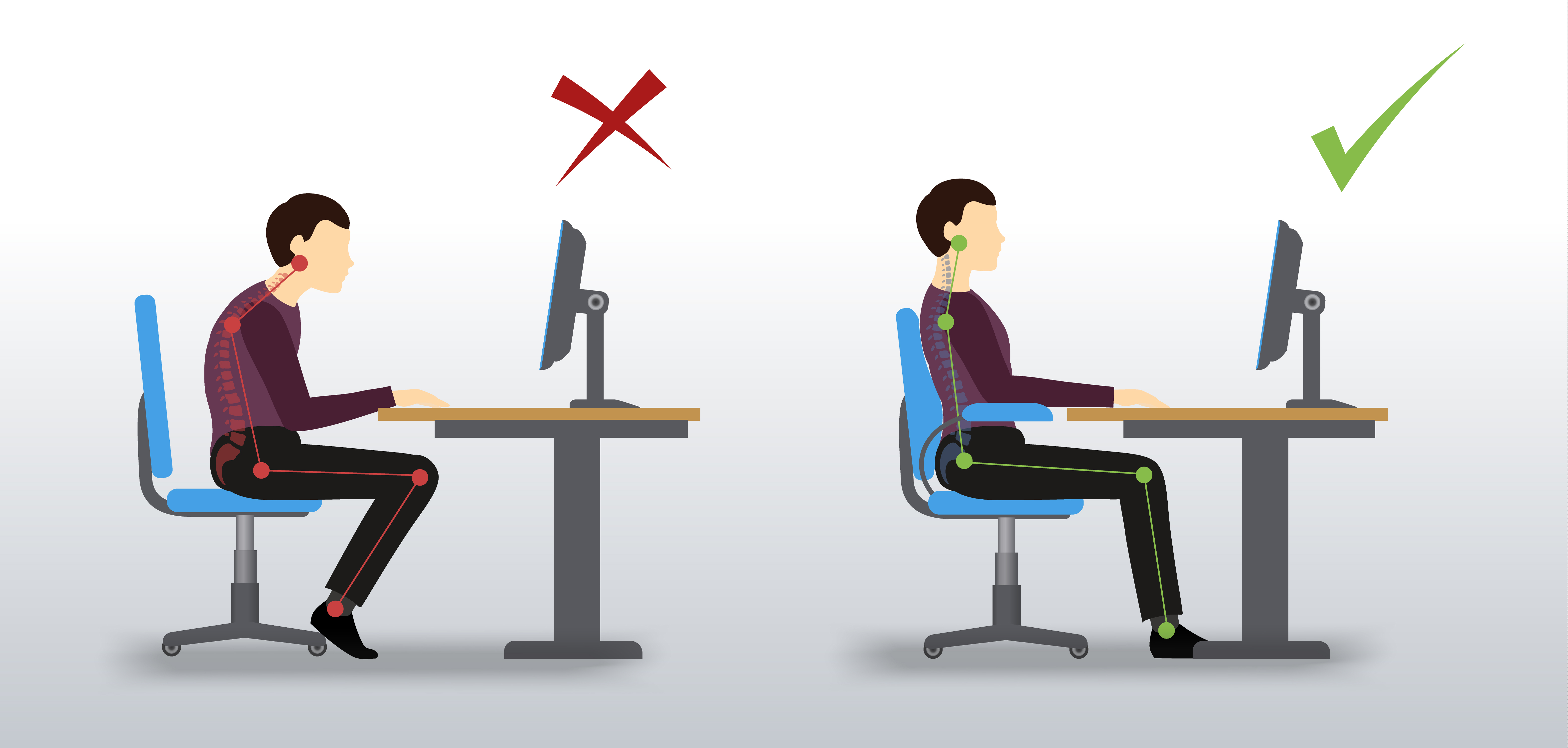 Incredible 4 Easy Steps To The Perfect Sitting Posture Thorne Road Beutiful Home Inspiration Aditmahrainfo