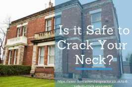 is cracking your neck safe
